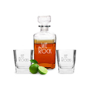 Cathy's Concepts HE-RS1193 He Rocks Decanter & Glass Set