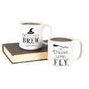 Cathy's Concepts HW16-3900-WB Witches Brew 20 oz. Large Coffee Mug Set