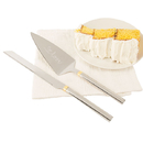 Cathy's Concepts LOV-1780 Golden Love Cake Serving Set
