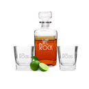 Cathy's Concepts P-RS1193 Personalized We Rock Decanter Set