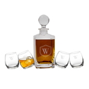 Cathy's Concepts S1219 Personalized Tipsy Whiskey Decanter Set