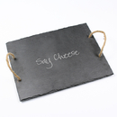 Cathy's Concepts SC2185 Say Cheese Slate Serving Board