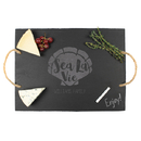 Cathy's Concepts SEA-2185 Personalized Sea La Vie Slate Serving Board