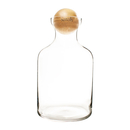Cathy's Concepts TER-1393 Personalized 56 oz. Glass Terrarium with Wood Ball