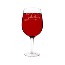 Cathy's Concepts V17-2232 My Valentine 25 oz. Novelty XL Wine Glass