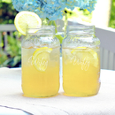 Cathy's Concepts WW1284-2 Wifey & Wifey 26 oz. Mason Jar Set