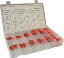 Capacitor Kit, 600 V Polyester, 600 V Polypropylene, 72 pieces
