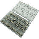 """CE Distribution F-Z-KIT Fuse Set - Fast and Slow Blow, 0.25"""" x 1.25"""", 8 types, 20 each"""