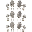 Gotoh P-GGT-11-X Tuners - Gotoh, Vintage Oval Knob, 3-per-side