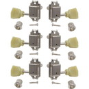 Gotoh P-GGT-2-X Tuners - Gotoh, Vintage Keystone-style, 3-per-side