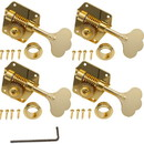 Gotoh Tuner Replacement for Pre-CBS Fender Bass Gold (4-in-a-line)