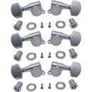 Gotoh Large Locking Schaller-style Knob Chrome Tuners (3 per side)