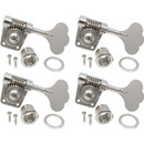 Gotoh Res-O-Lite GB528 Vintage Style Bass Machine Head Set Nickel (4-in-a-line)