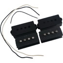 Generic P-GPS-6 Pickup Kit - Precision Bass (P-Bass), Black Cover
