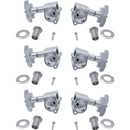 Grover P-GRV-109X Tuners - Grover, Super Rotomatic, 3 per side