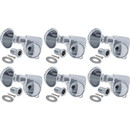 Tuning machine - Grover, Mini Lock Roto, Left-hand, 6/Line, 18:1