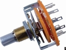 """Switch - Rotary, 1 Pole, 12 Positions, ¼"""" Shaft, MBB (Shorting)"""