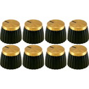 Original Marshall Amplifier Knobs, Push-On, Package of 8