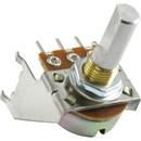 Potentiometer - Fender, 100kΩ, Reverse Audio, D Shaft, Snap-In