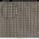 """Ampeg S-G293 Grill Cloth - Ampeg, Black / Silver, 34"""" Wide"""