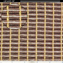 """CE Distribution S-G475 Grill Cloth - Black / Gold, 34"""" Wide"""