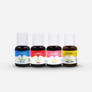 Chefmaster Natural Food Coloring 4 Color Kit