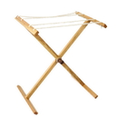 Camden Rose 1100 Cherry Wood Drying Stand - Clothes Drying Rack, No Clothes Pins