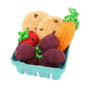 Camden Rose 1182 Knitted Carrot, Strawberry, Grapes & Cookies