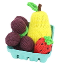 Camden Rose 1183 Knitted Strawberry, Grapes & Pear