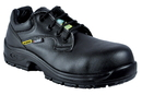 COFRA 10211-CU5 Solid SD PR, Black Lorica Shoe/Composite Toe/Pu-Pu Outsole/ Metal Free