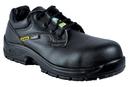 COFRA 10211-CU5 Solid SD PR, Black Lorica Shoe/Composite Toe/Pu-Pu Outsole/ Metal Free