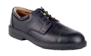 COFRA 33051-CU1 Coulomb SD, Shoe Derby Black Full Grain Leather/Full Grain Lining/Steel/No Plate