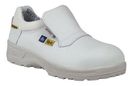 COFRA 76401-CU0 AKRON WHITE SD+, Low Cut Shoes Made Of Sanyderm Leather/Steel Toe