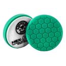 "Hex-Logic BUFX_103HEX6 6.5 "" Hex-Logic Pad Green Light Cut-Heavy Polish Minor Scratch & Swirl Remover Pad- 6.5""Inch)"