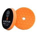 Chemical Guys BUFX112HEX5 Hex-Logic Quantum Buffing Pad -Orange -5.5