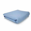"""Chemical Guys MIC_703S_01 Super Absorber Waffle Weave Drying Microfiber Towel, Blue 25"""" X 36"""""""