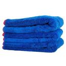 "Chemical Guys MIC_998_3 Fluffer Miracle Supra Mircofiber Towel, Blue 24"" X 16"" (3 Pack)"
