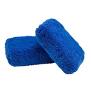 Chemical Guys MIC29602 Dark Blue Thick -Microfiber Applicator Premium Grade (2 Pack)