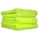 Chemical Guys MIC33303 El Gordo -Professional Fat Lime Green Microfiber 70/30 Thick Supra Microfiber Towels 16.5 X 16.5 (3 Pack)