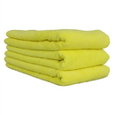 """Chemical Guys MIC36503 Workhorse Towel-Yellow For Interiors Professional Grade Microfiber Towels (16"""" X 24"""") (3-Pack)"""