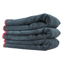 Chemical Guys MIC50903 Chemical Guys -Premium Red-Line Microfiber Towel Dark Gray With Red Lining(16X24) 3 Pack.