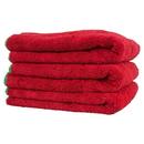 Chemical Guys MIC99703 Fluffer 24' X 16' Ultra Premium Red w/Green Edges (3 Pack)