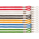 Champion Sports 125ASST Heavy-Duty Nylon Lanyard Assorted Colors