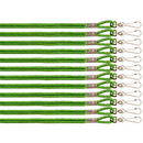 Champion Sports 125GN Green Nylon Lanyard
