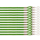 Champion Sports 126GN Heavy Nylon Lanyard, Green