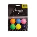 Champion Sports 1STAR6MP 1Star Table Tennis 6/Pk Multi