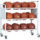 Champion Sports 24BC Double Wide Ball Cart