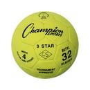 Champion Sports 3STAR4 3 Star Indoor Soccer Ball Size 4