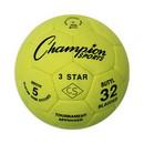 Champion Sports 3STAR5 3 Star Indoor Soccer Ball Size 5