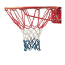 Champion Sports 405 4Mm Economy Basketball Net Red/White/Blue